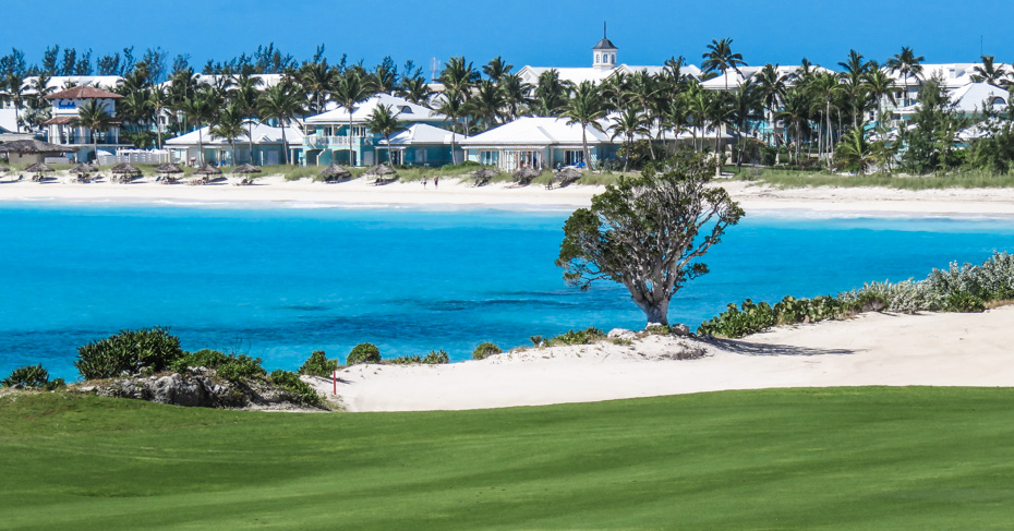 Play golf at Emerald Bay Bahamas staying at the Grand Isle Resort and Spa or Sandals Emerald Bay for the ultimate Bahamas vacation. Island hop Bahamas with their unique Bahamas Tours and day trips from Florida. Discover the beauty of the Exuma Cays.