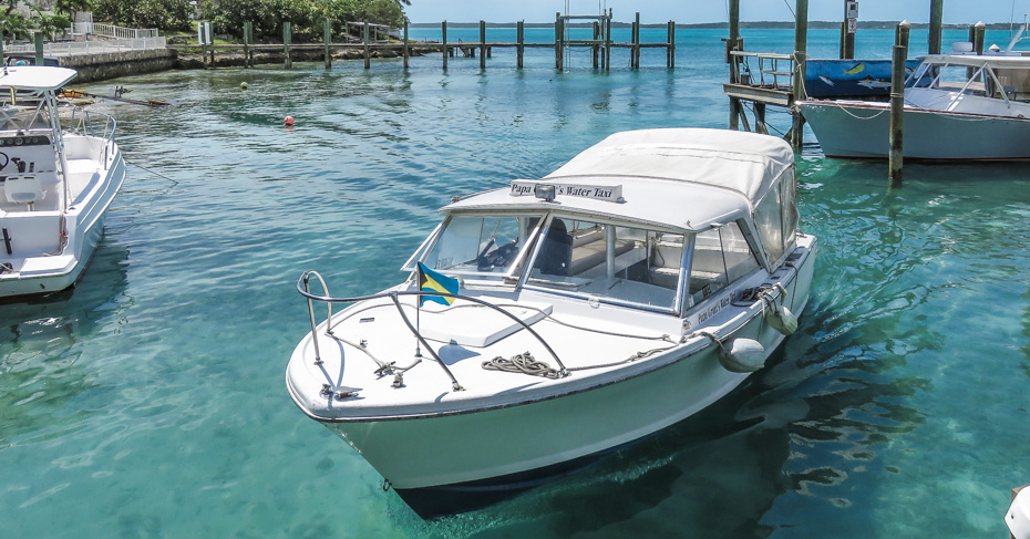 Take the water taxi from North Eleuthera to get to Harbour Island Bahamas. Water taxis can pick you up from the main harbour at Dunmore Town or the Marina at Valentines Resort. Use the water taxi service to get to North Eleuthera Airport for your North Eleuthera flights.
