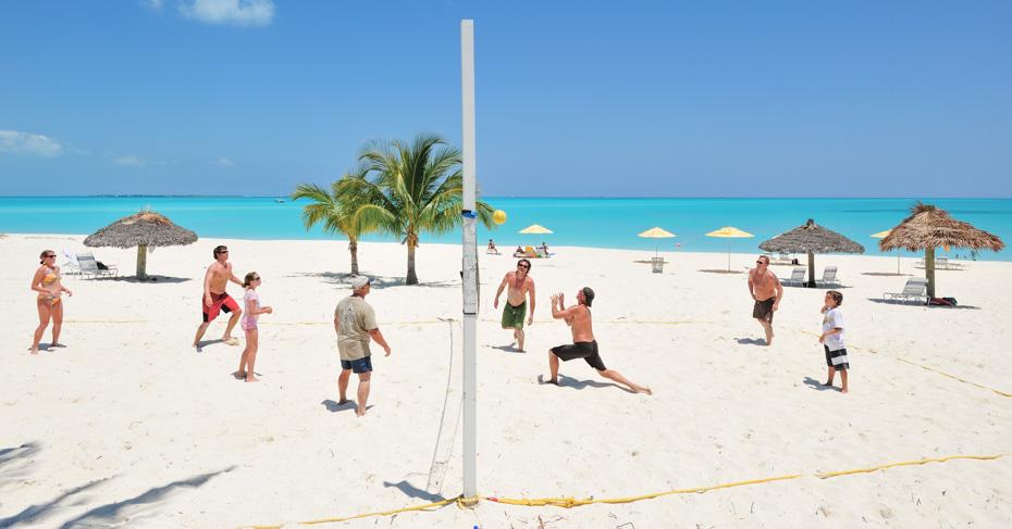 Treasure Cay Bahamas beach at the Treasure Cay Resort and Marina.