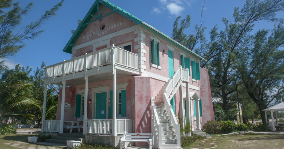 Governors Harbour Eleuthera Bahamas Tour with Bahamas Air Tours on a 5 day cruise to Bahamas by plane.