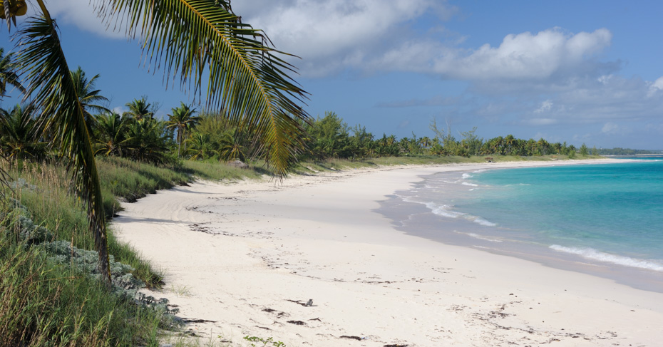 Eleuthera Bahamas beaches. Flights to North Eleuthera with Bahamas Air Tours