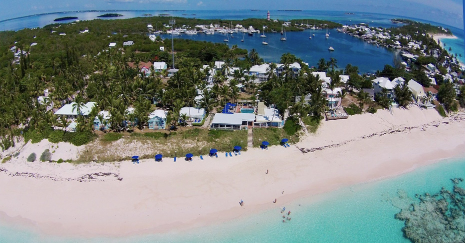 Hope Town Bahamas Lodge resort. Discover the highlights of Elbow cay bahamas on a Bahamas Day Trip and one day trip to Bahamas from Miami.