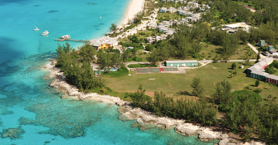 San Salvador Bahamas Club Med resort on San Salvador Island Bahamas. Fly from Miami to San Salvador with bahamas Air Tours
