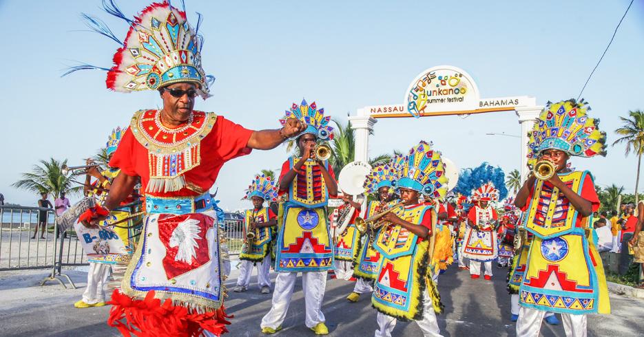 Things to do in Nassau Bahamas. Bahamas Junkanoo Festival in Nassau. ©Bahamas Ministry Of Tourism