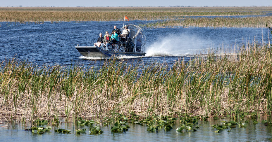 Best things to do in Miami Everglades Airboat Tours. Everglades Airboat Tours, Things to do in Miami Florida. Tourist enjoying and airboat ecotour of the Sawgrass Recreation Park in the Everglades . Sawgrass airboat tours are one of south Florida's top destinations activities for visitors to the state.