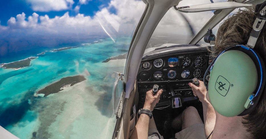 Charter flights to Bahamas on a private plane charter with Bahamas Air Tours. Fly from Florida to Bahamas. Take a private aircraft charter
