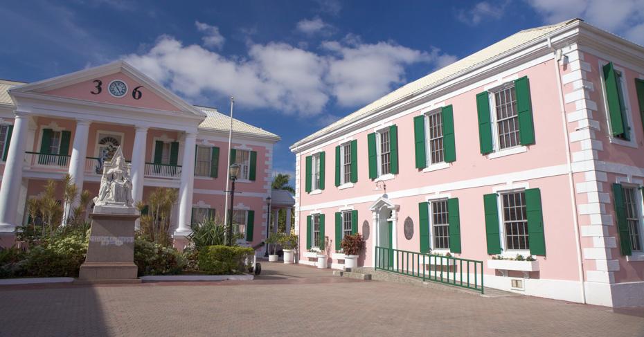 Bahamas Landmarks Nassau, Take a Self guided walking tour of Nassau Old Town in the Bahamas. Take a Bahamas Island Hopping tour with Bahamas Air Tours.
