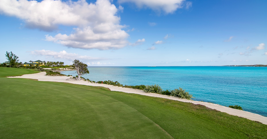 Best Golf Courses in Bahamas, at the Sandals Emerald Bay Golf Course.
