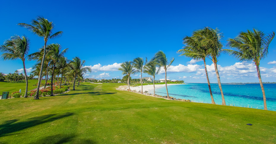 Best Golf in Bahamas at The One & Only Ocean Club Golf Course, Golfing Nassau Bahamas and best golf courses in Bahamas