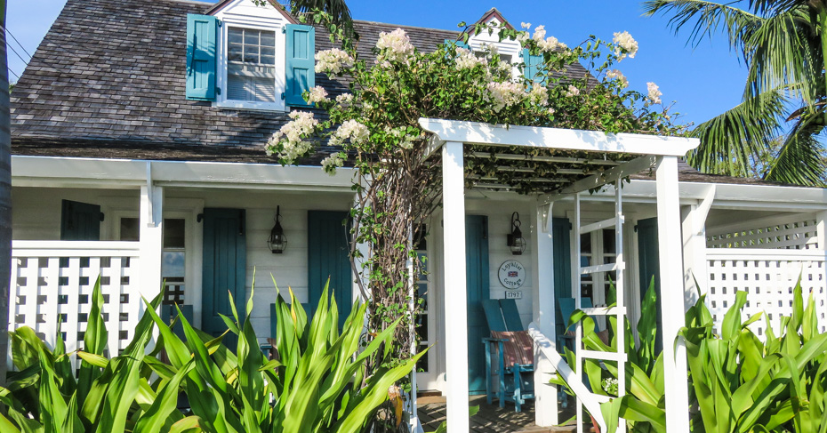 Best place to go in the Bahamas colonial Dunmore Town in Harbour Island Bahamas. Harbour Island Bahamas is located in North Eleuthra. Flights to North Eleuthra fly from florida Fort Lauderdale and Miami with Bahamas Air Tours.