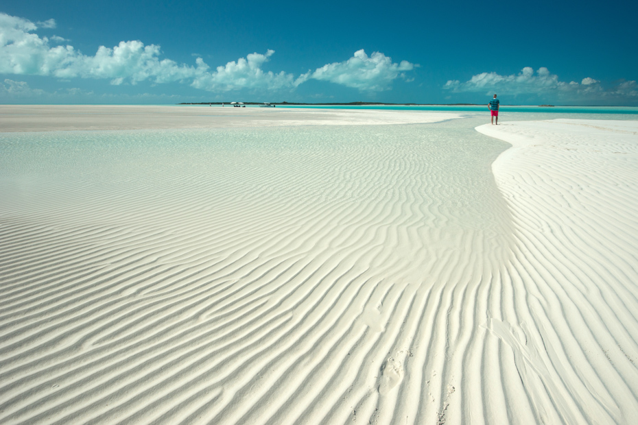 Best Beaches in Exuma, Sandy Cay, Bahamas. Visit Exuma on a Bahamas Day Tour with Bahamas Air Tours with flights from Florida to Bahamas.