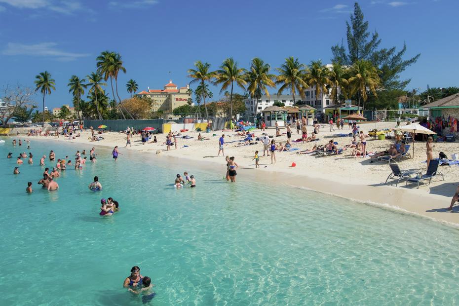 Junkanoo Beach, Downtown Nassau
