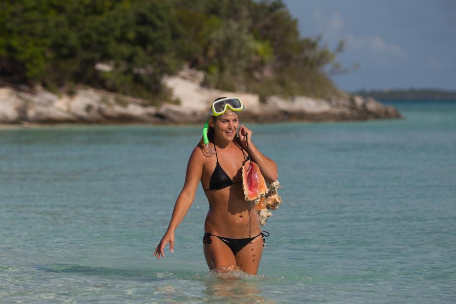 Bahamas Conch Exuma island and Staniel Cay Day Trip