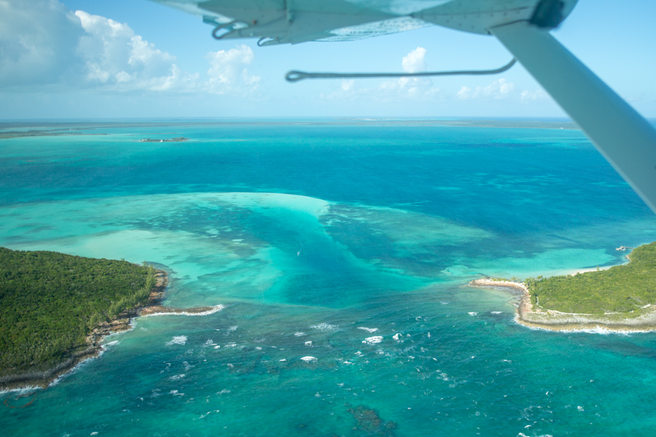 Bahamas Day Trip Plane Tour with Bahamas Air Tours on their most popular Staniel Cay Day Trip