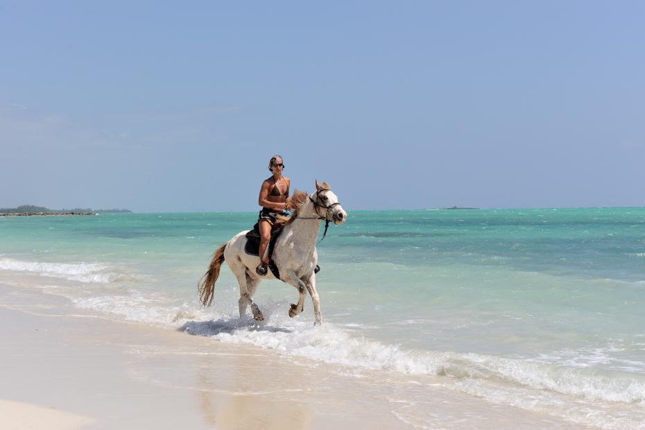 Horseback Riding Bahamas in the Bahamas sea is one of the top Bahamas activities