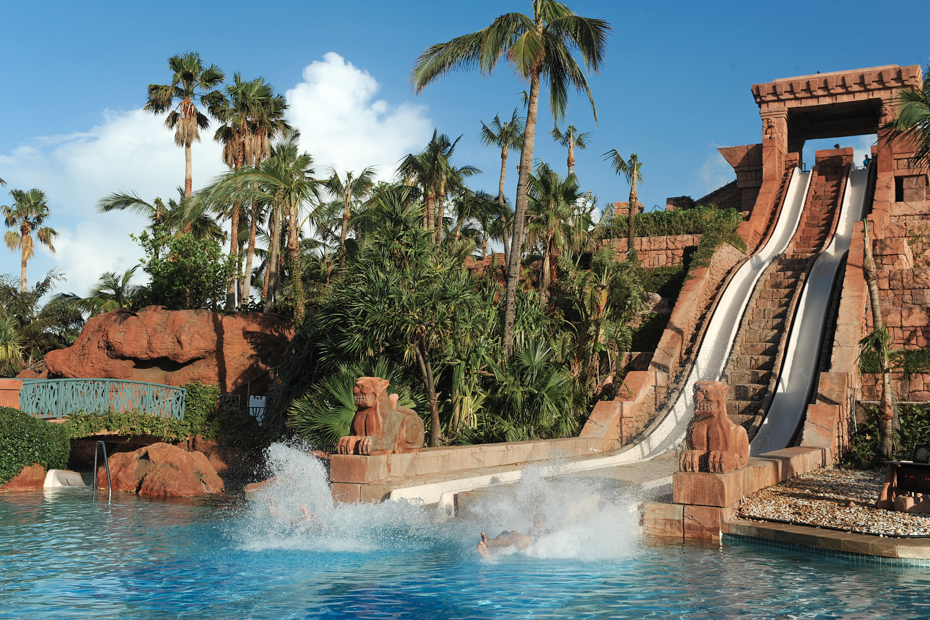 Aquaventure Nassau Bahamas Water Park. Check out this Atlantis Water Park at Atlantis Aquaventure with an Atlantis Bahamas Day Pass. This Atlantis Day Pass will grant access to the entire Atlantis Bahamas Water Park.