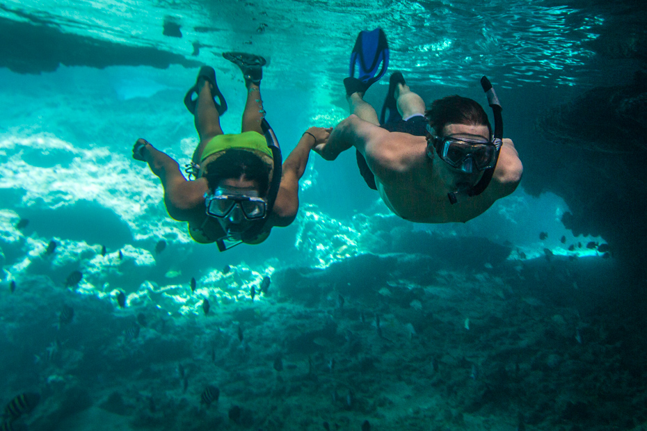 Best Excursions in Nassau with Bahamas Air Tours by plane to the James Bond Thunderball Grotto on a Staniel Cay Day Tour