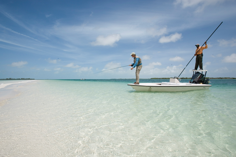 Take a private charter for Bonefishing the Bahamas