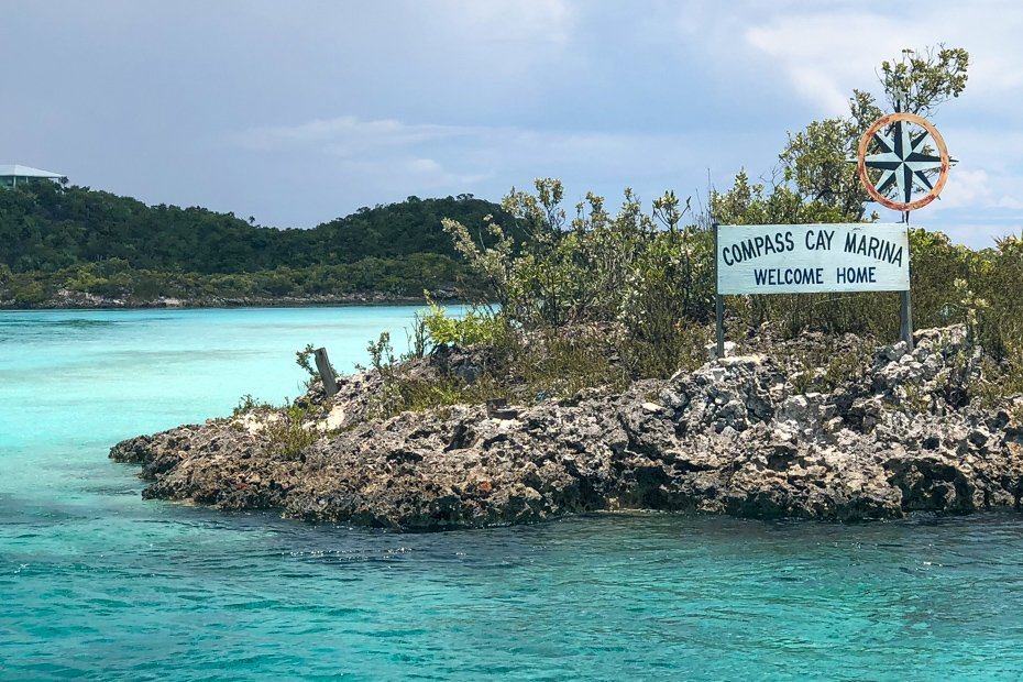 Compass Cay Marina Bahamas Day Trips by plane to Staniel Cay with Bahamas Air Tours.