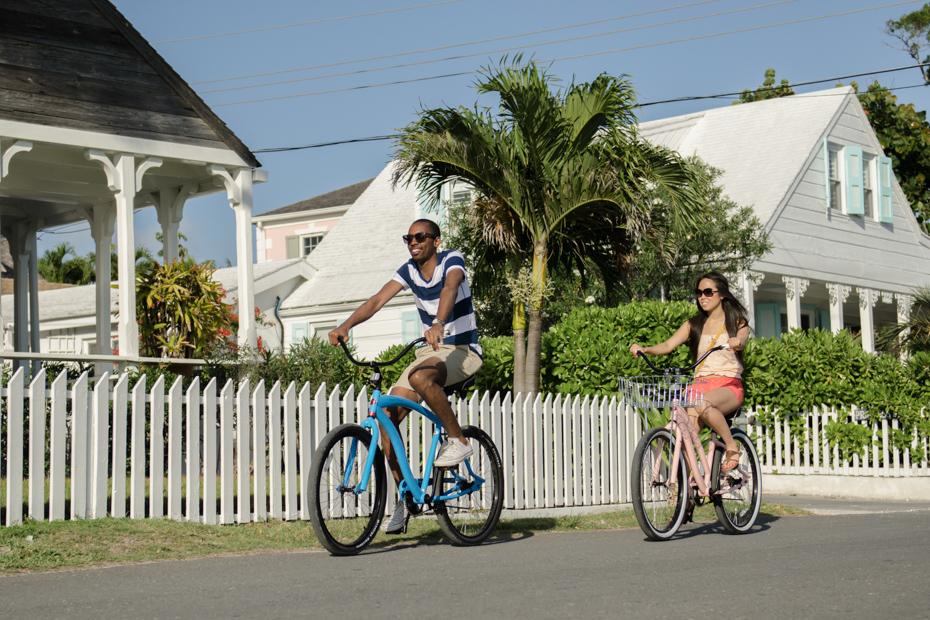 Dunmore Town Bahamas on Harbour Island, Eleuthera.