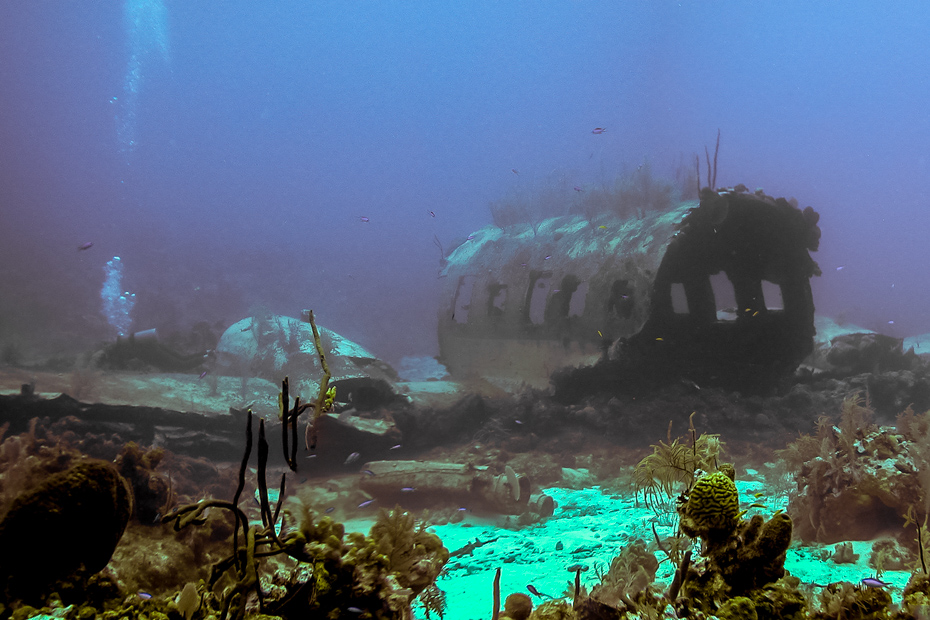 Nassau Diving Bahamas Plane Wrecks