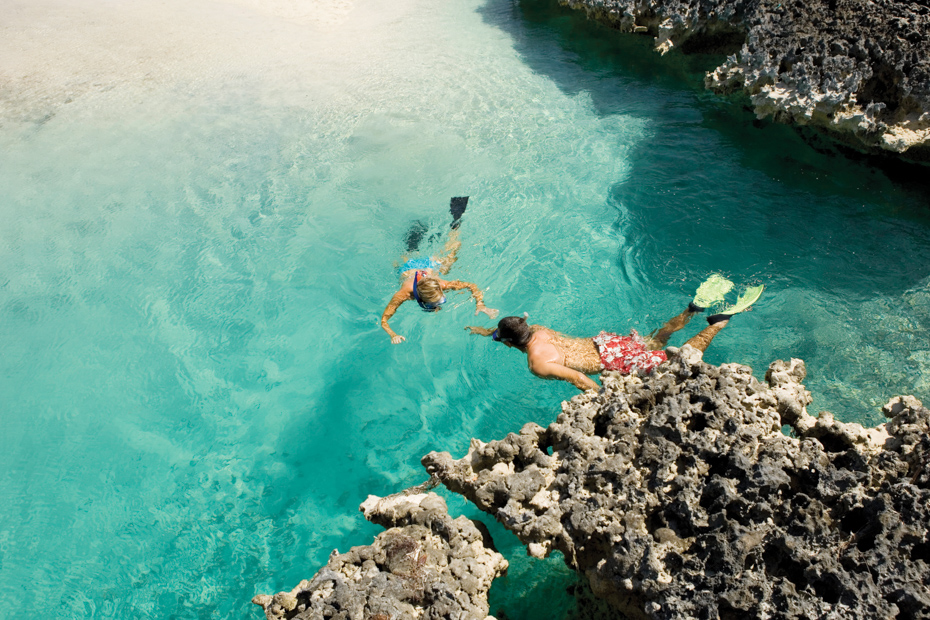 Nassau snorkeling Andros island