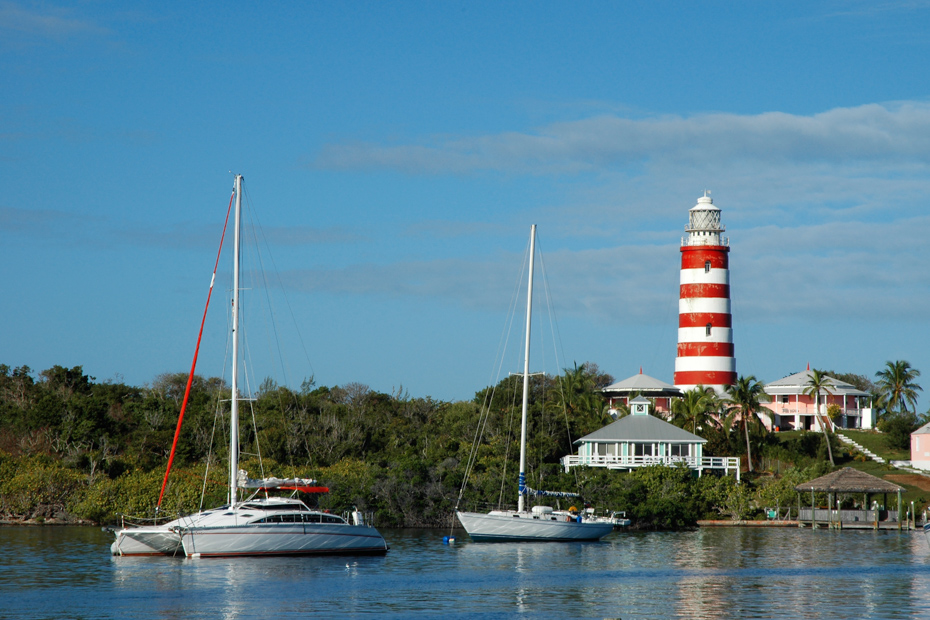 Hope Town Lighthouse is a popular attraction in Hope Town Bahamas. Most people come to Elbow Cay Abaco for the excellent beaches on flights to Bahamas. However, some Bahamas vacations are more interested in Hope Town Abaco Bahamas attractions.
