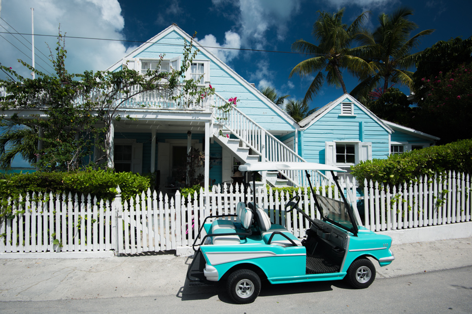 The mode of transportation is by golf carts in North Eleuthera. Spanish Wells Bahamas is one of the top destinations of any Bahamas day trip from Florida.