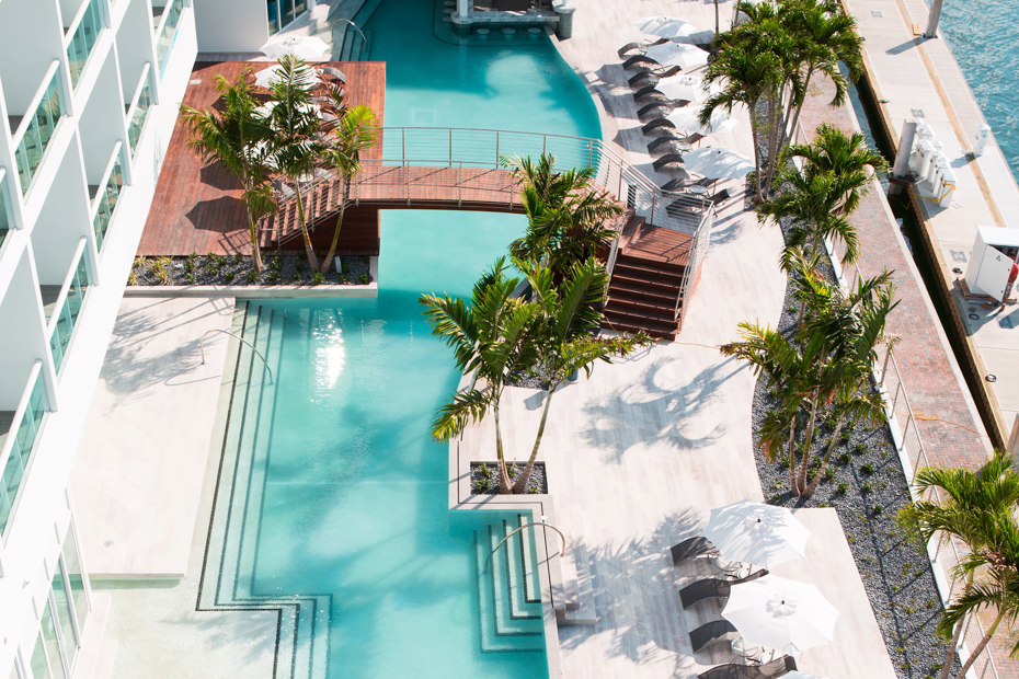Expect luxury pools and stays in Bimini Bahamas. The Miami to Bimini ferry is slow, but Bahamas air charter planes with Bahamas Air Tours is an enjoyable one day cruise to Bimini.