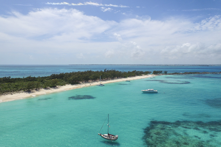 Aerial view of the beautiful Bahamas. Planning a trip to the Bahamas with Bahamas Air Tours is as simple as booking one Bahamas day tour. We will take care of the rest.
