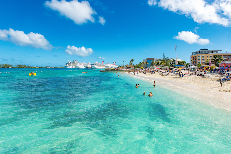 Junkanoo Beach is one of the best Bahamas beach. Check out more of the best beaches in Bahamas. Take a one day cruise to Bahamas vacation through the air with a Bahamas Air charter.