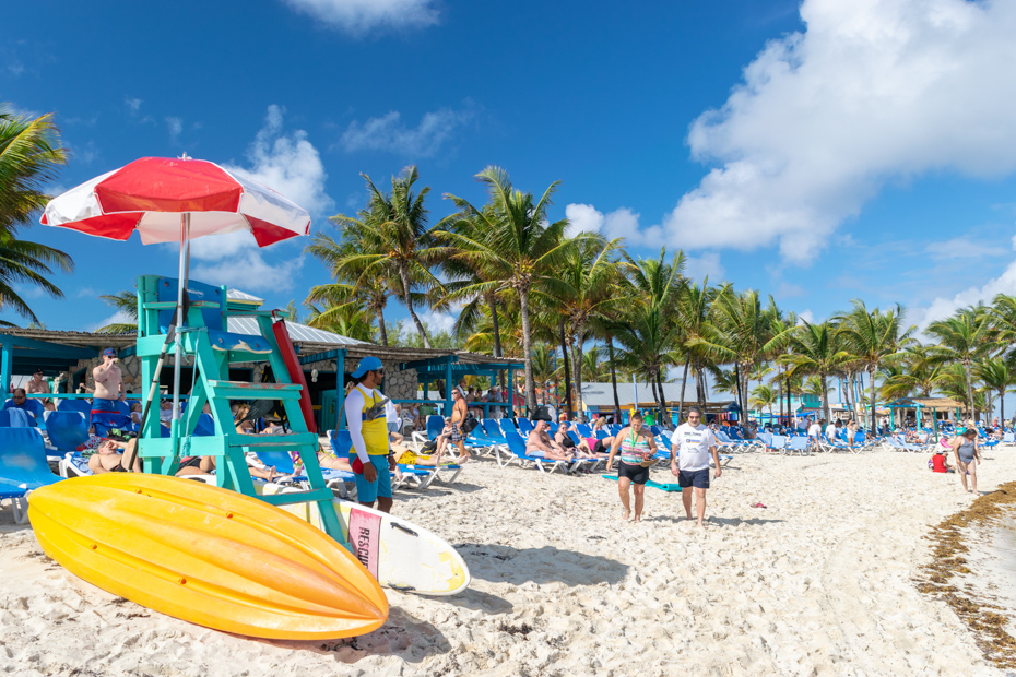 Experience Cococay on Little Stirrup Cay with Royal Caribbean Cruises