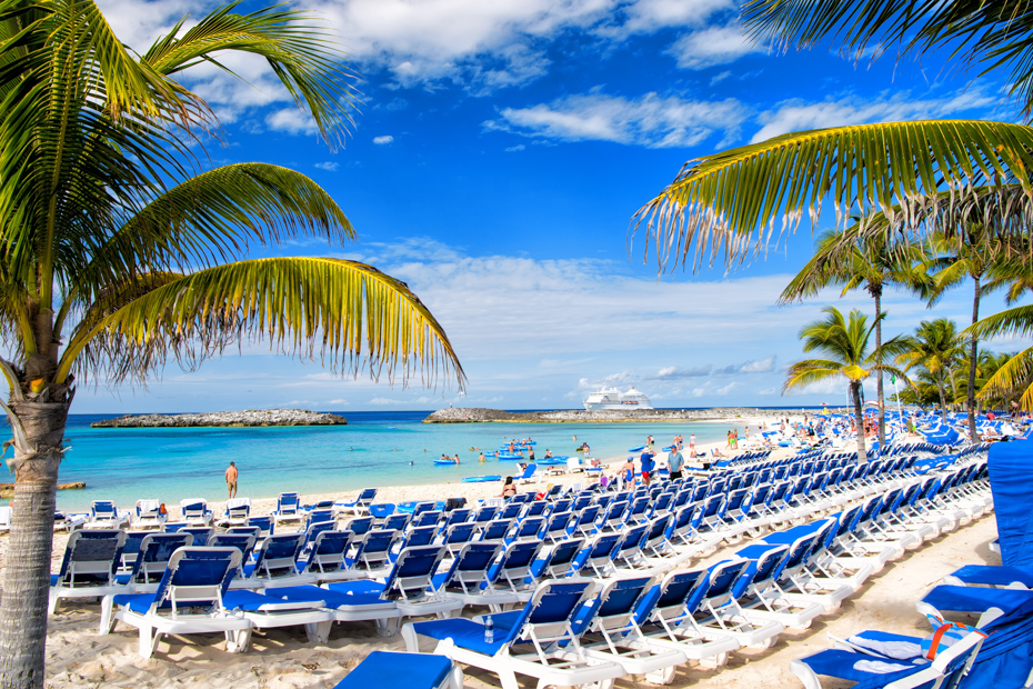 Check out Stirrup Cay Island -- an NCL private island in the Bahamas. See the swimming pigs Bahamas on Pig Island a part of a tours to Pig Beach.