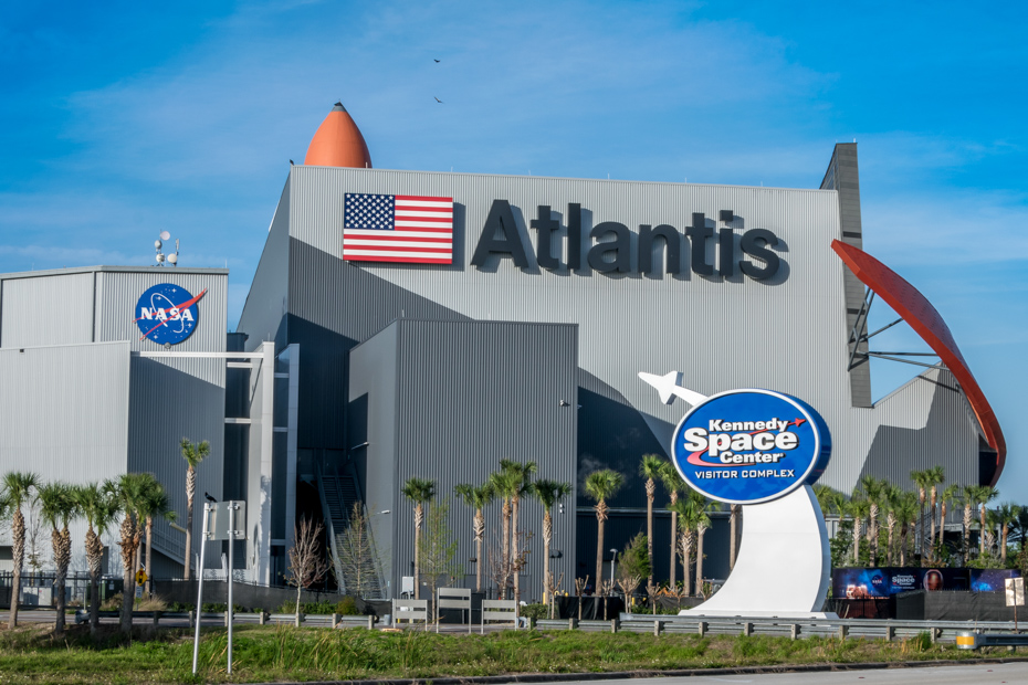Kennedy Space Station near Orlando, Florida. More fun things to do in Orlando Florida with kids on Florida vacation.