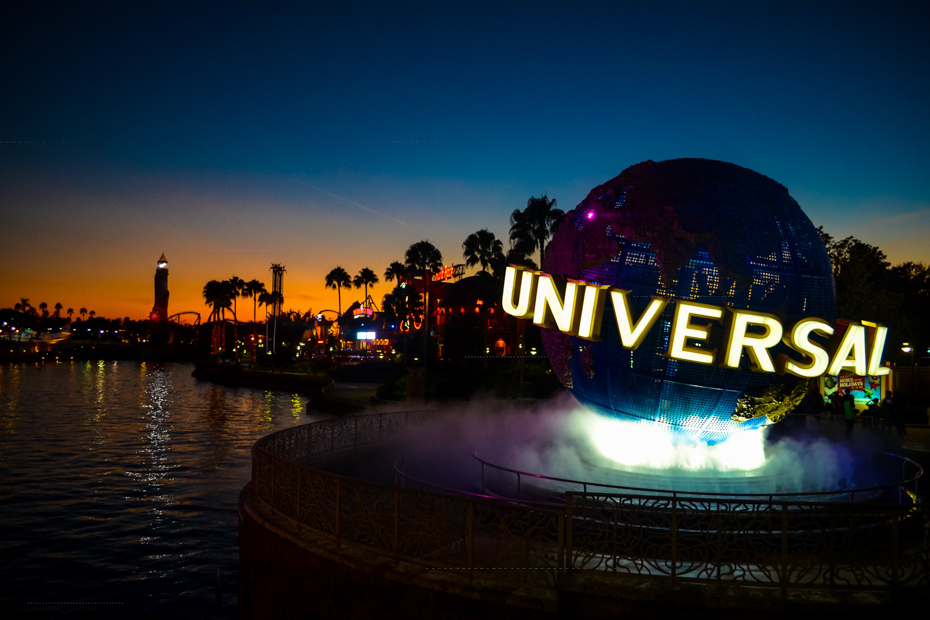 The renowned Universal Studios of Orlando, Florida. One of the top things to do in Orlando for adults on your Florida attractions list.