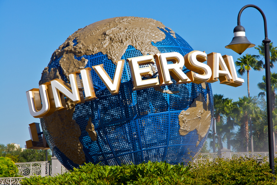 The renowned Universal Studios in Orlando, Florida. One of many things to do in South Florida such as a day trip to Staniel Cay.