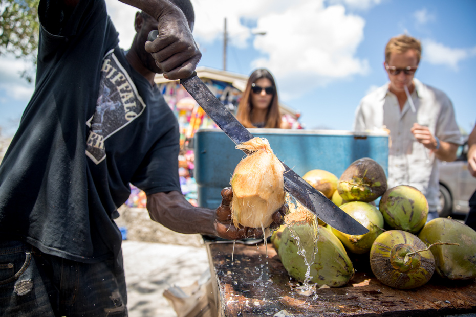 Local flavor at the port in Nassau. Don't limit yourself to the things to do in the Bahamas on a cruise. Visit the out islands with Bahamas Air Tours.