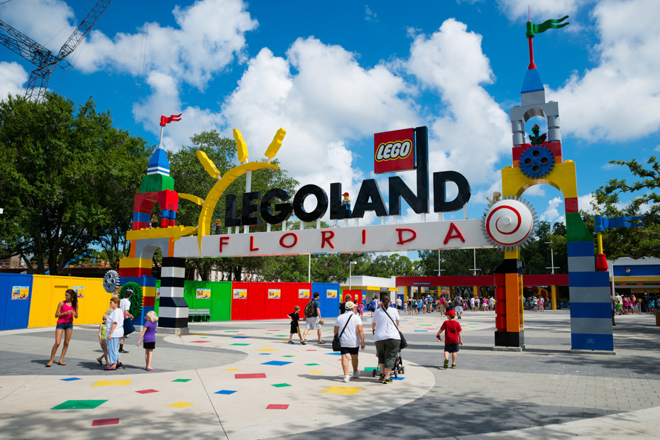 Legoland in Orlando, Florida. Here's what to do in Orlando Florida with kids out of all florida attractions.