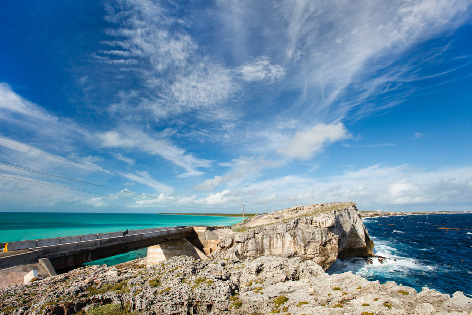 Harbour Island Day Trips also offer day excursions to the Glass Window Bridge on Eleuthera Bahamas.