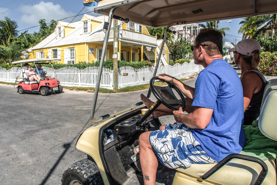 Nassau to Harbour Island Day Trip by Plane. Enjoy exploring the small lanes of Dunmore Town by golf ccart on this amazing Nassau to Harbour Island Day Tour.