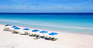 Nassau to Pink Sands Beach Day Tour with Bahamas Air Tours. Enjoy a full day trip on Harbour Island with a guided tour through Dunmore Town and a full beach service at Pink Sands Beach.
