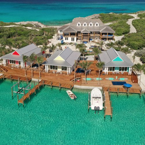 Exuma Villas at Staniel Cay are 3 luxury water villas on the lagoon side of Staniel Cay Bahamas. Take a week long getaway to these stunning rentals on Staniel Cay