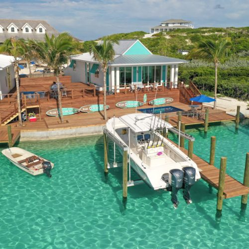Stay at the Staniel Cay Villas in Exuma Bahamas. These stunning luxury water villas make the perfect Bahamas vacation