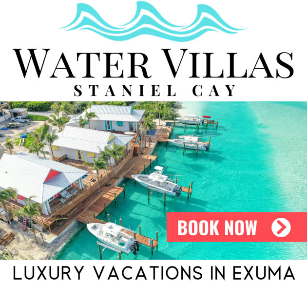 Bahamas Vacations at the Staniel Cay Water Villas in Exuma