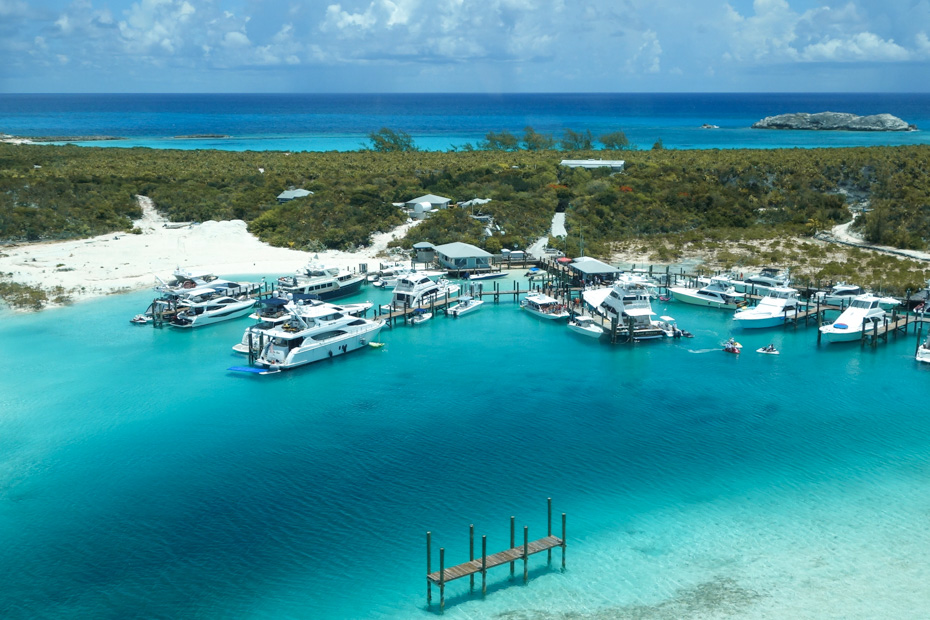 Compass Cay Marina the home of the Swimming with Nurse Sharks Experience