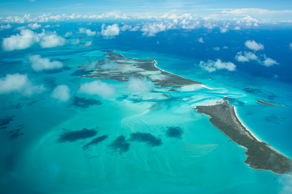 Getting from Nassau to Exuma is easy by plane. Fly with Bahamas Air Tours from Nassau to Exuma . Land at Staniel Cay airport in Exuma Cays, the closes island to the Swimming Pigs and the famous Swimming Pigs Exuma.