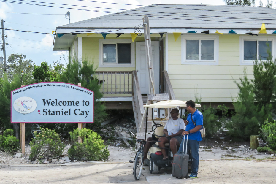 Places to stay in Exuma at Staniel Cay Island. The Staniel Cay Accommodations are very easy to get to as the Staniel Cay airport is centrally located and short distance from all amjor Staniel Cay Resorts. Fly to Staniel Cay Exuma with Bahamas Air Tours