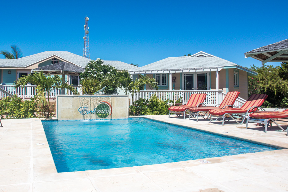 Places to Stay in Exuma: Embrace Resort is one the centrally located Staniel Cay Resorts on Staniel Cay island in Exuma. With many Staniel Cay accommodations to choose from, this is one of the only eco exuma hotels and one of the best place to stay in bahamas.