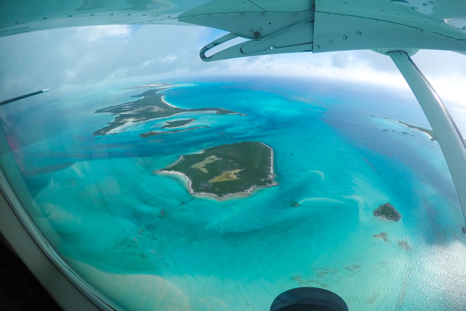 What to do in Miami Florida is take a unique Miami to Bahamas Day Trip and fly from Florida to Exuma. The Bahamas Day Trip from Miami is one of the top things to do in Miami Florida. Fly into Staniel Cay and visit the famous Bahamas Swimming Pigs at Pig Beach, a small island in the Exuma Cays.