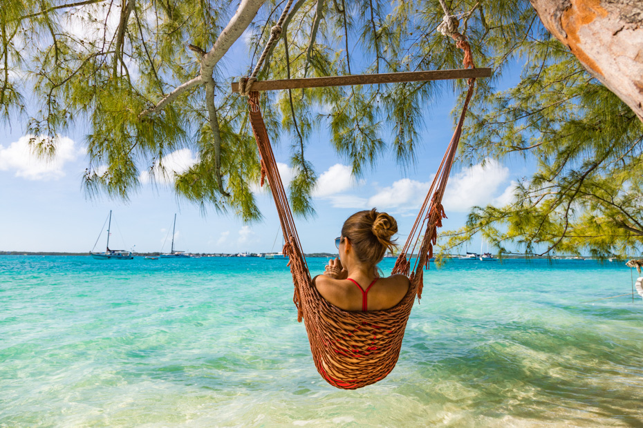 best place to go in the bahamas islands exumas with Bahamas air tours on a bahamas day trips by plane to staniel cay exumas